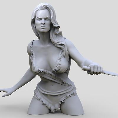 Andre de souza cavegirl busto 3