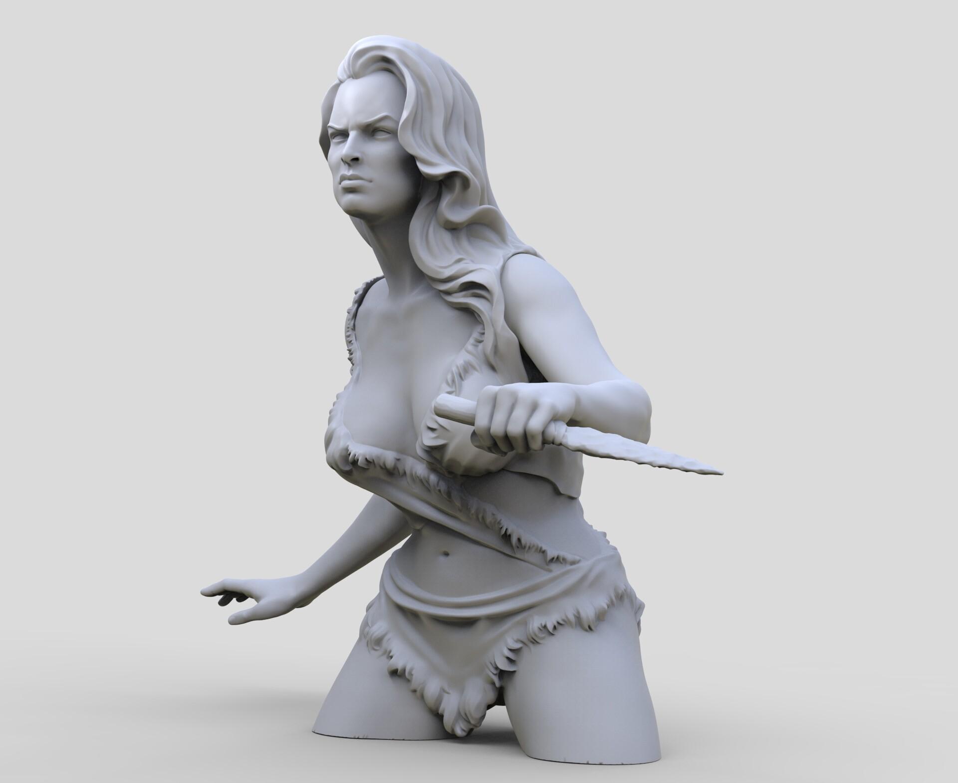 Andre de souza cavegirl busto 5