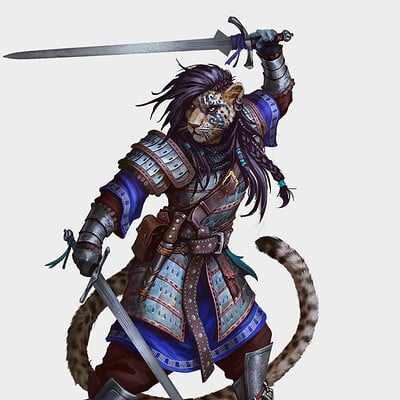 Khajiit Warrior 3