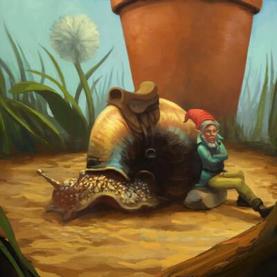 Efraim ninsiima gnome steed ii by efraim ninsiima