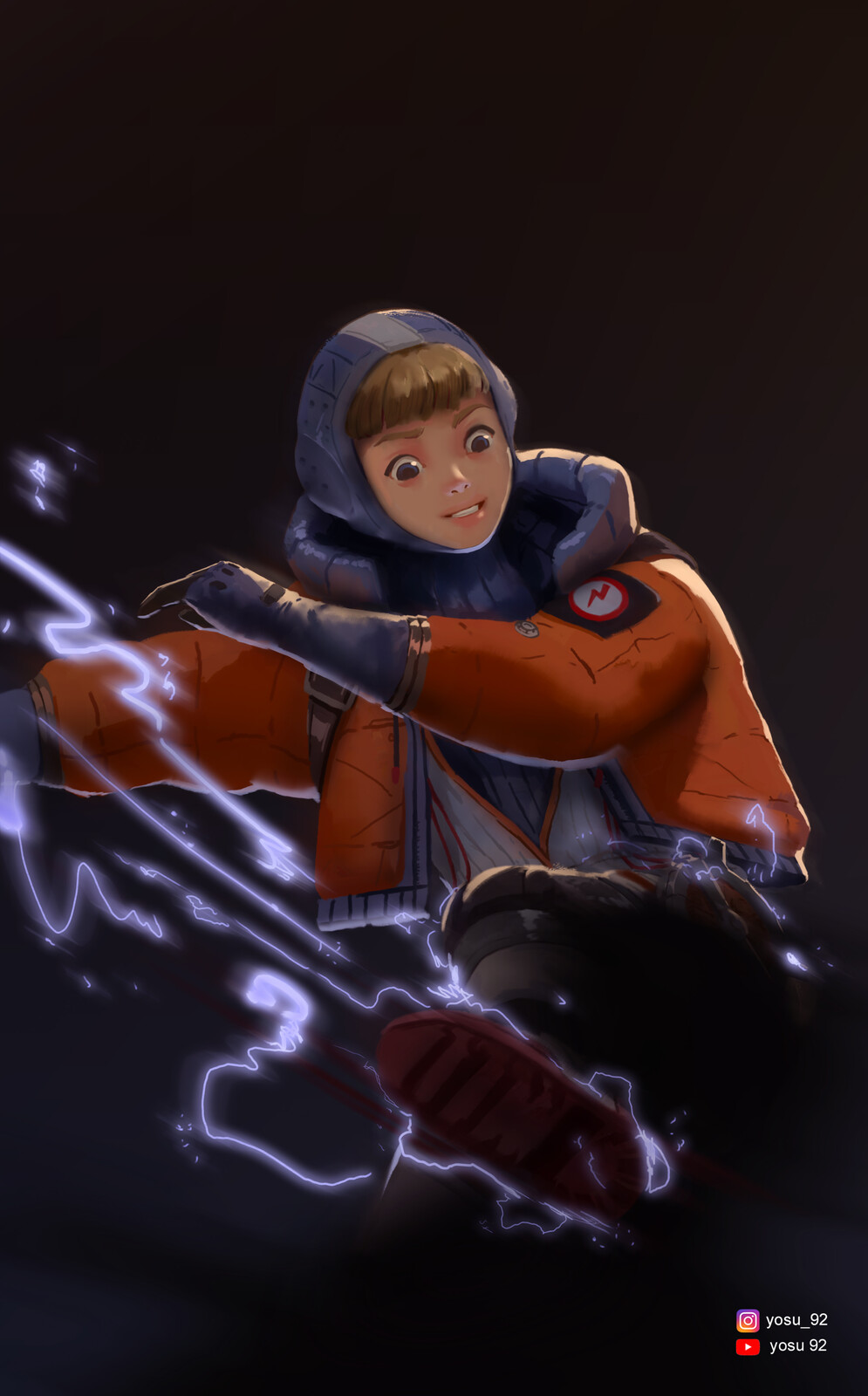 Apex Legends Wattson Fanart