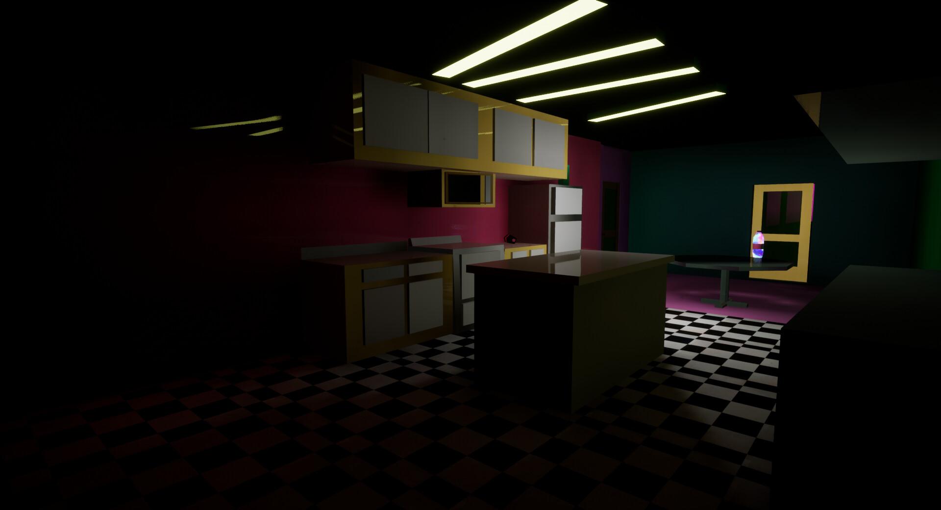 The Dollhouse-Kitchen