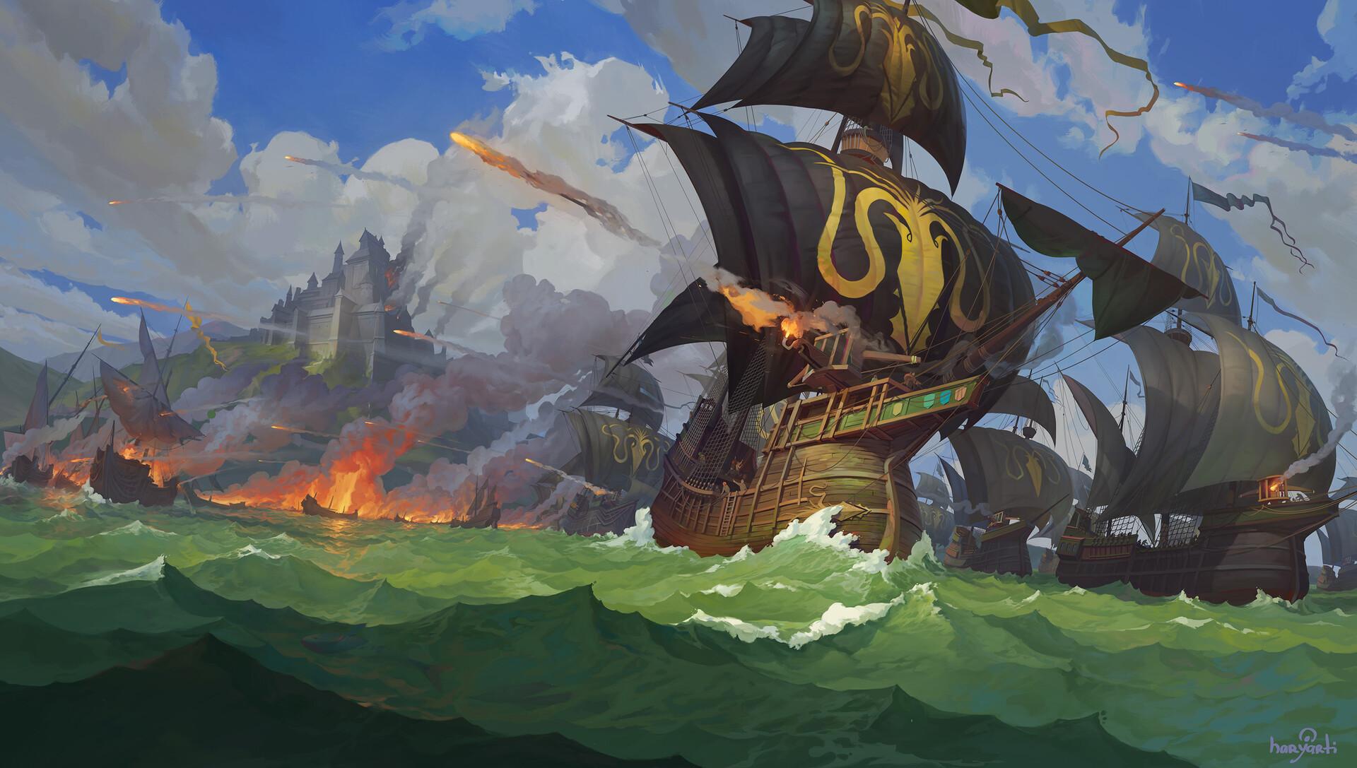 Igor artyomenko siege ships art4 2