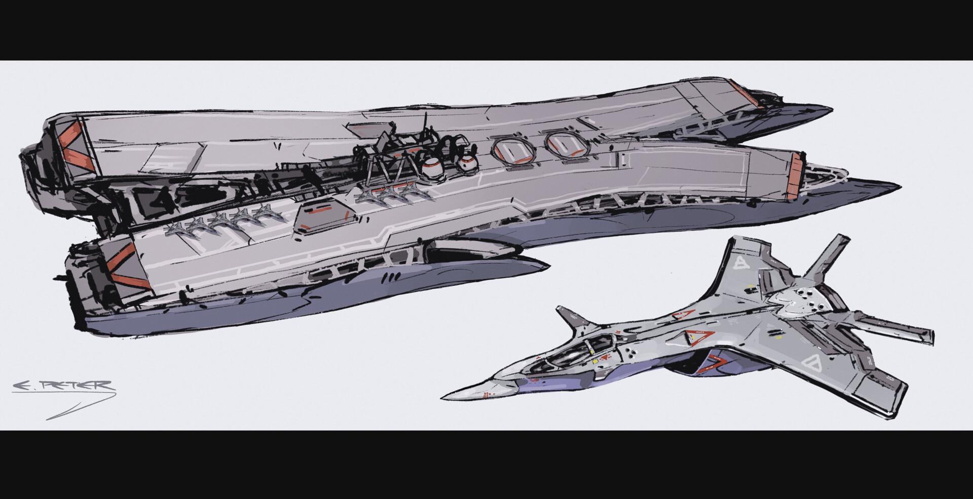 West aircraft carrier (M)