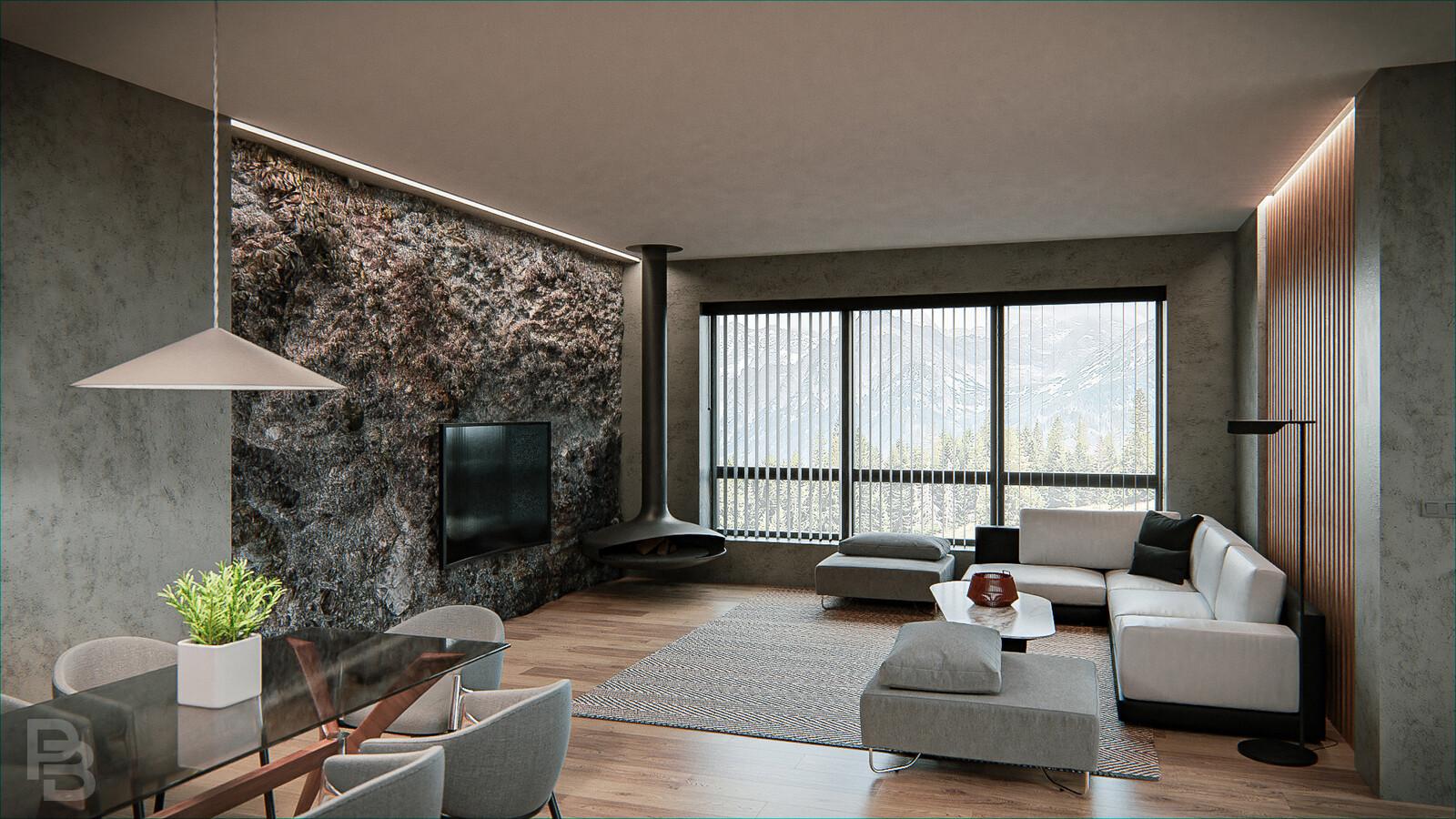 Rock livingroom