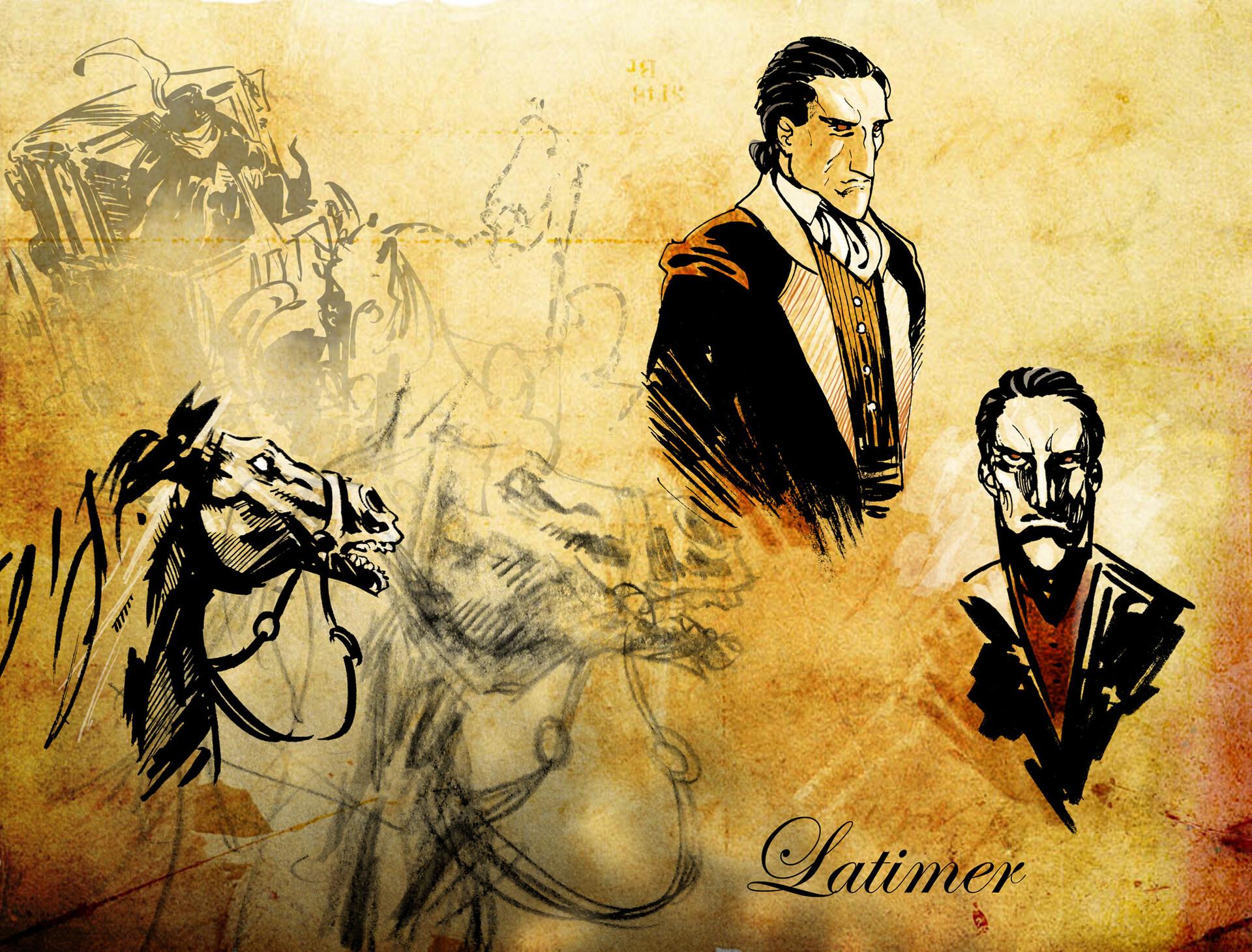 Latimer character design