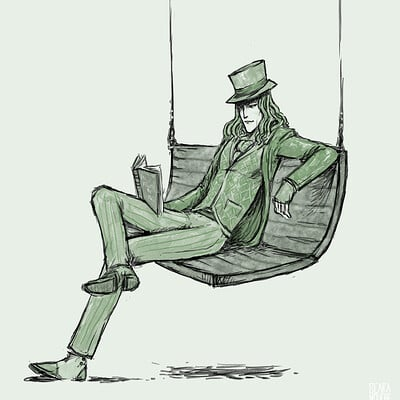 Scara mouche lord absinthe
