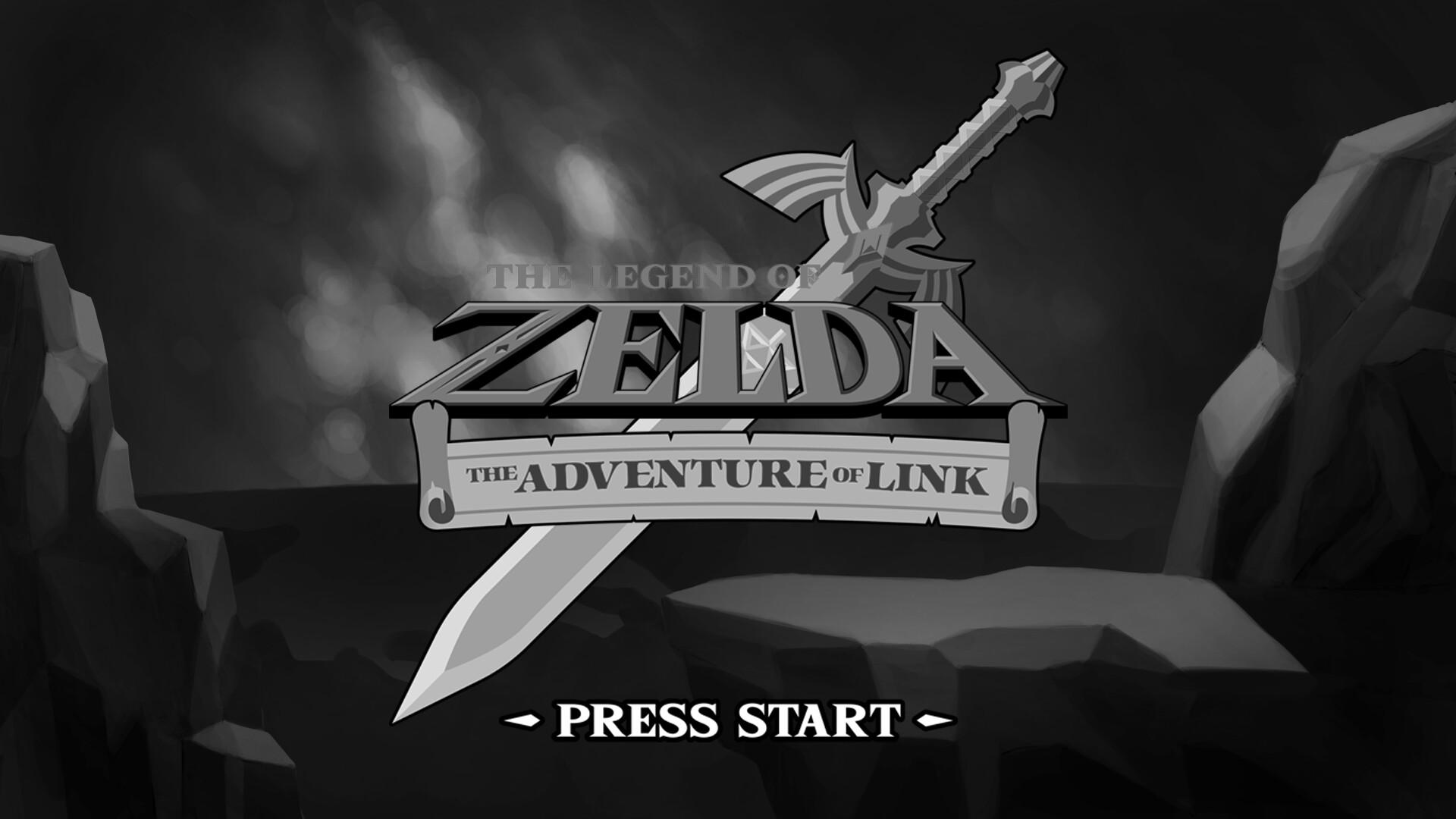Daniel bernal zelda 2 the adventure of link 4 bw