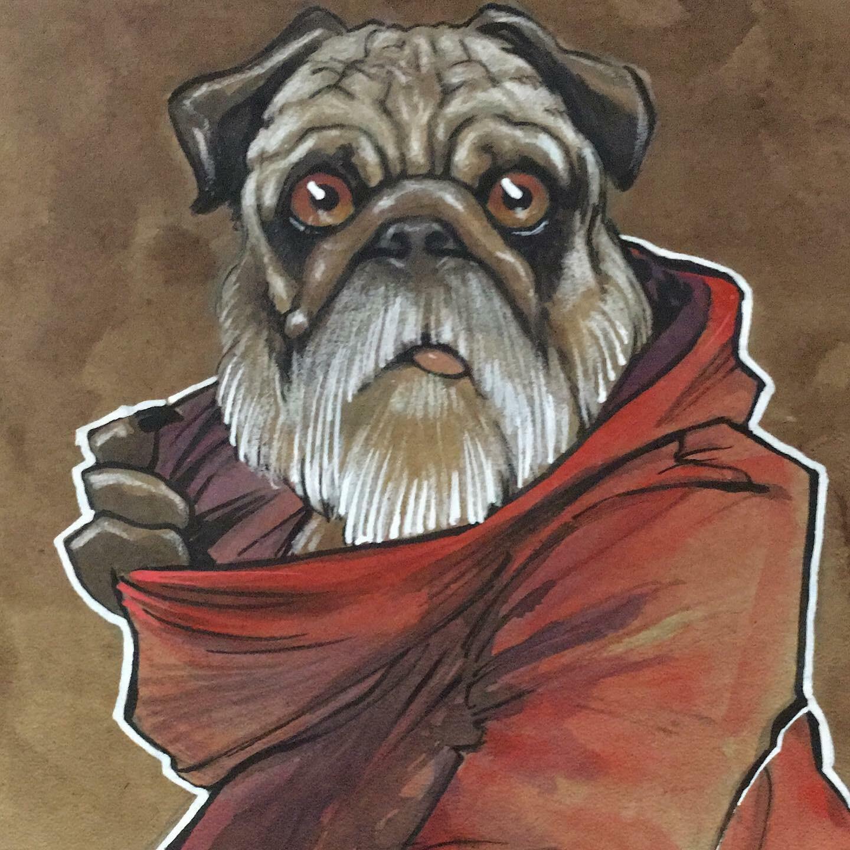 Pug Skywalker