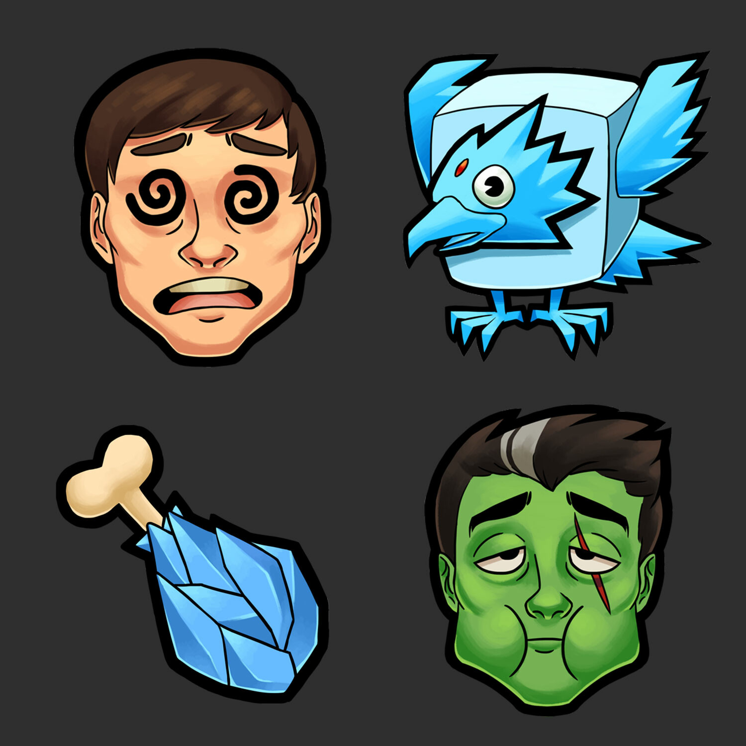 League of Legends themed emotes