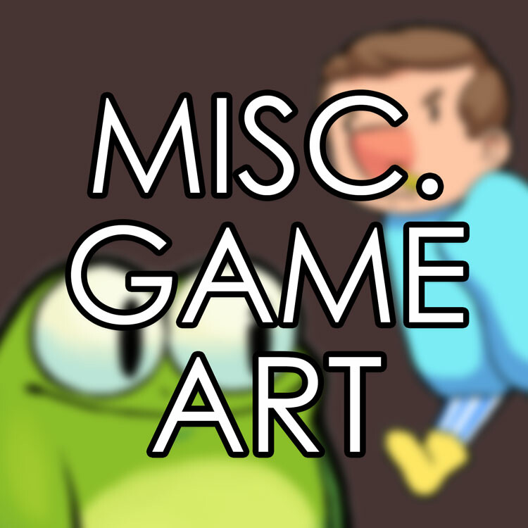Game art from smaller projects or game jams!