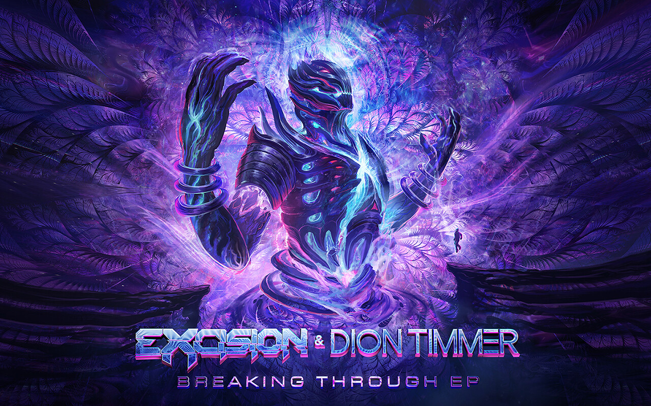Eric hallquist excision diontimmer breakingthrough wallpaper 1280x800
