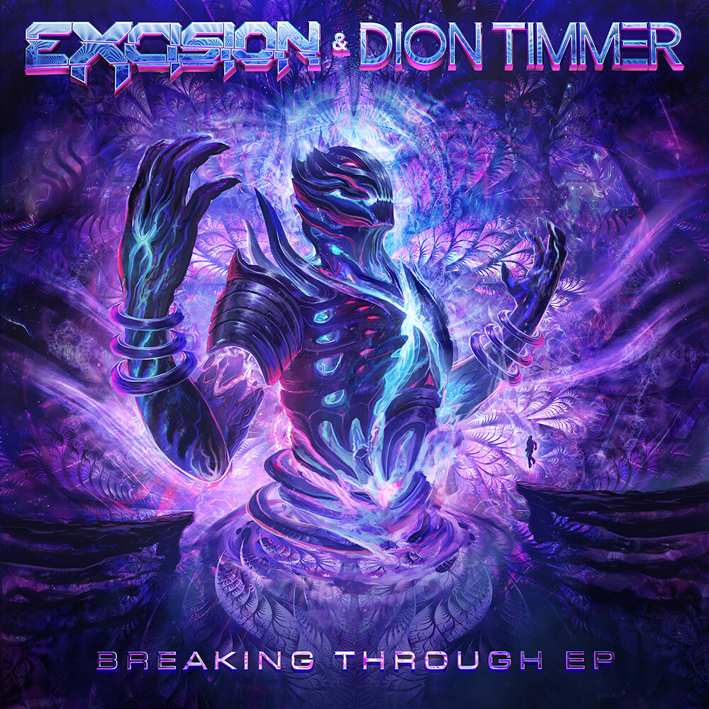 Eric hallquist excision diontimmer breakingthrough ep art 1000px