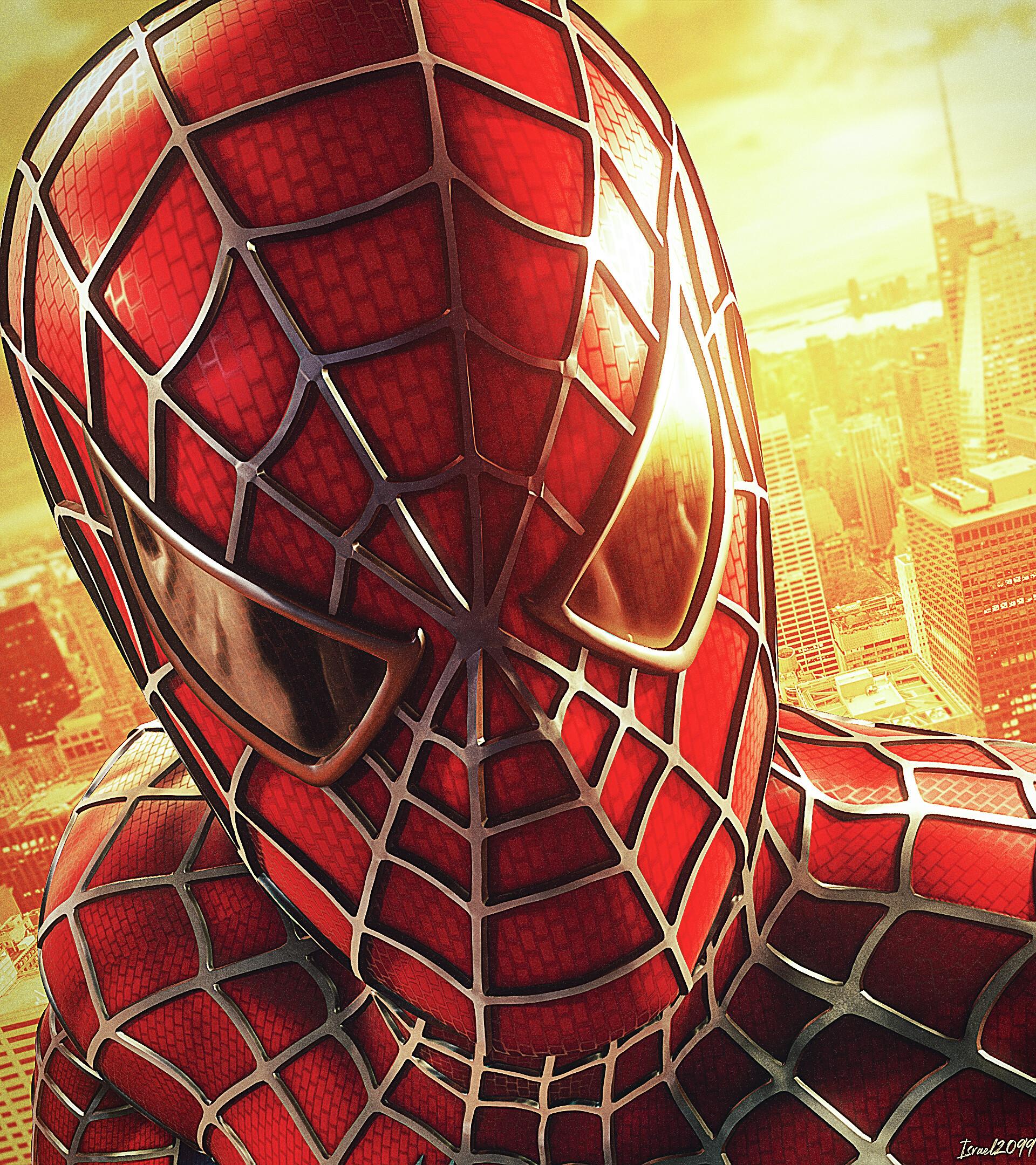 Artstation Spider Man Wallpaper Spider Man 2 Style Israel Soteldo