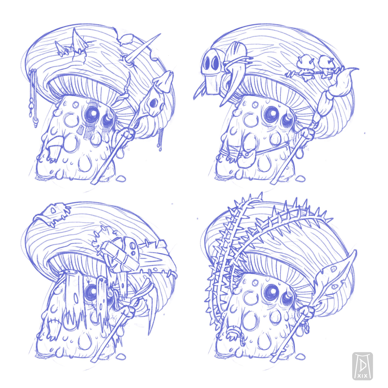 Explorative Sketches