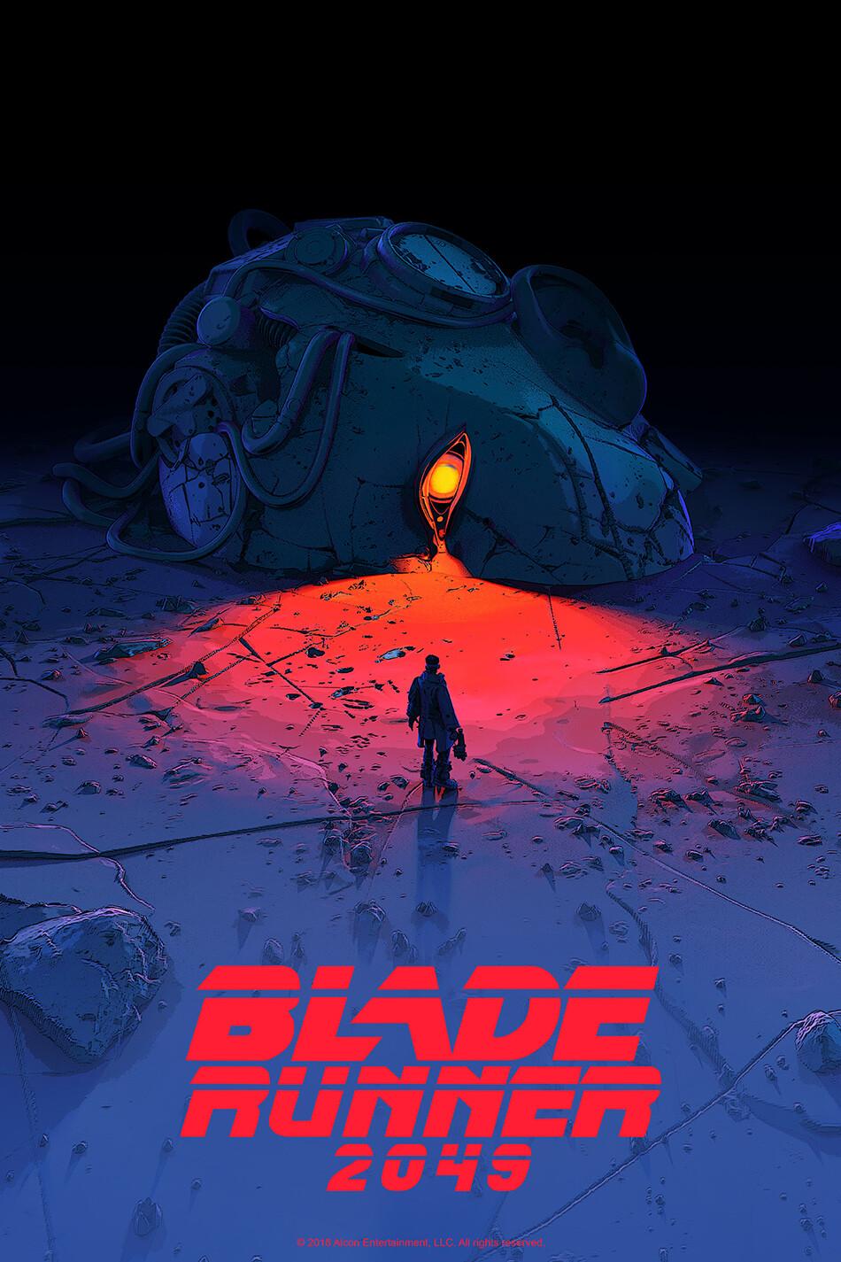 BLADE RUNNER 2049 Mondo Poster.