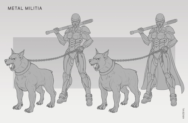 Christian villacis 08 metal militia