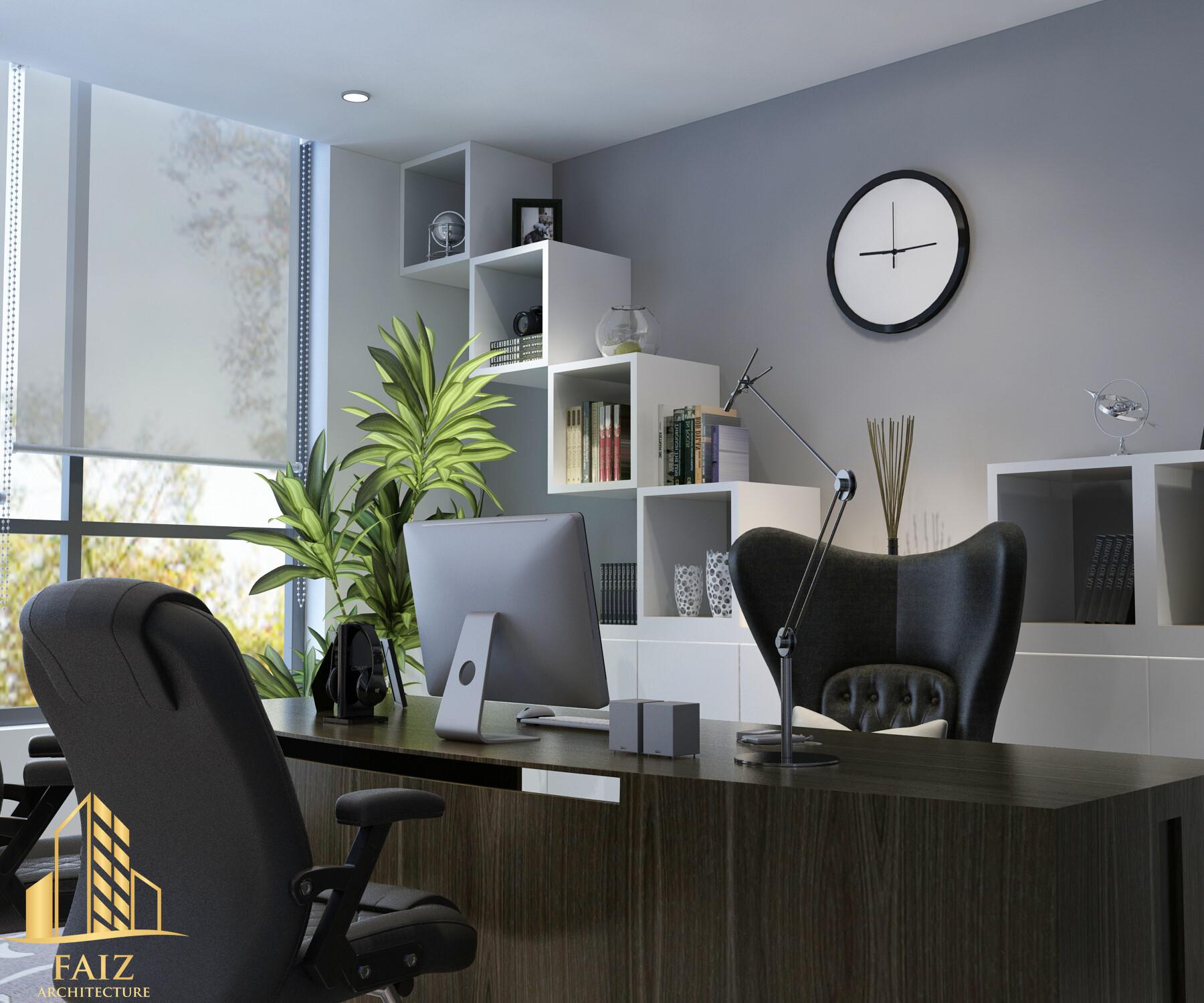 Artstation Small Office Interior Faisal