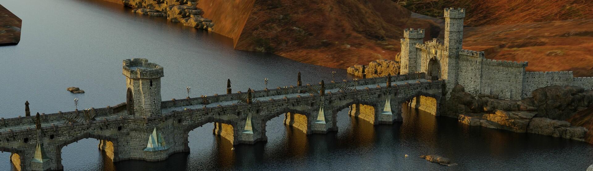 Jasza dobrzanski bridge design render