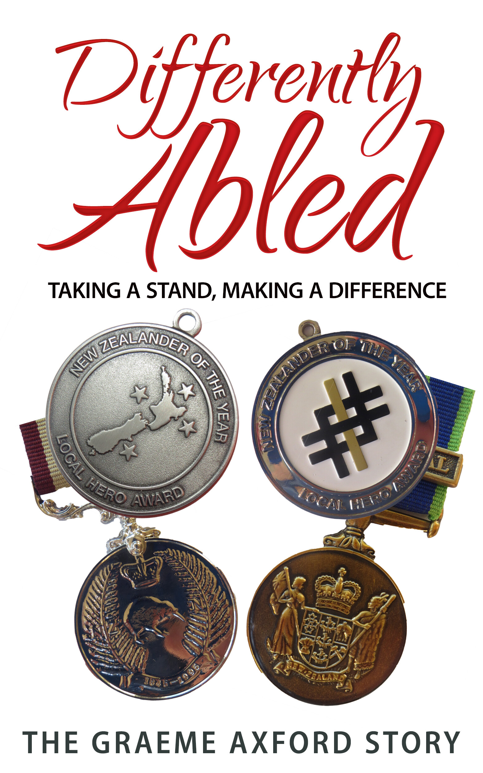 ArtStation - Differently Abled Book Cover Medals, James Russell