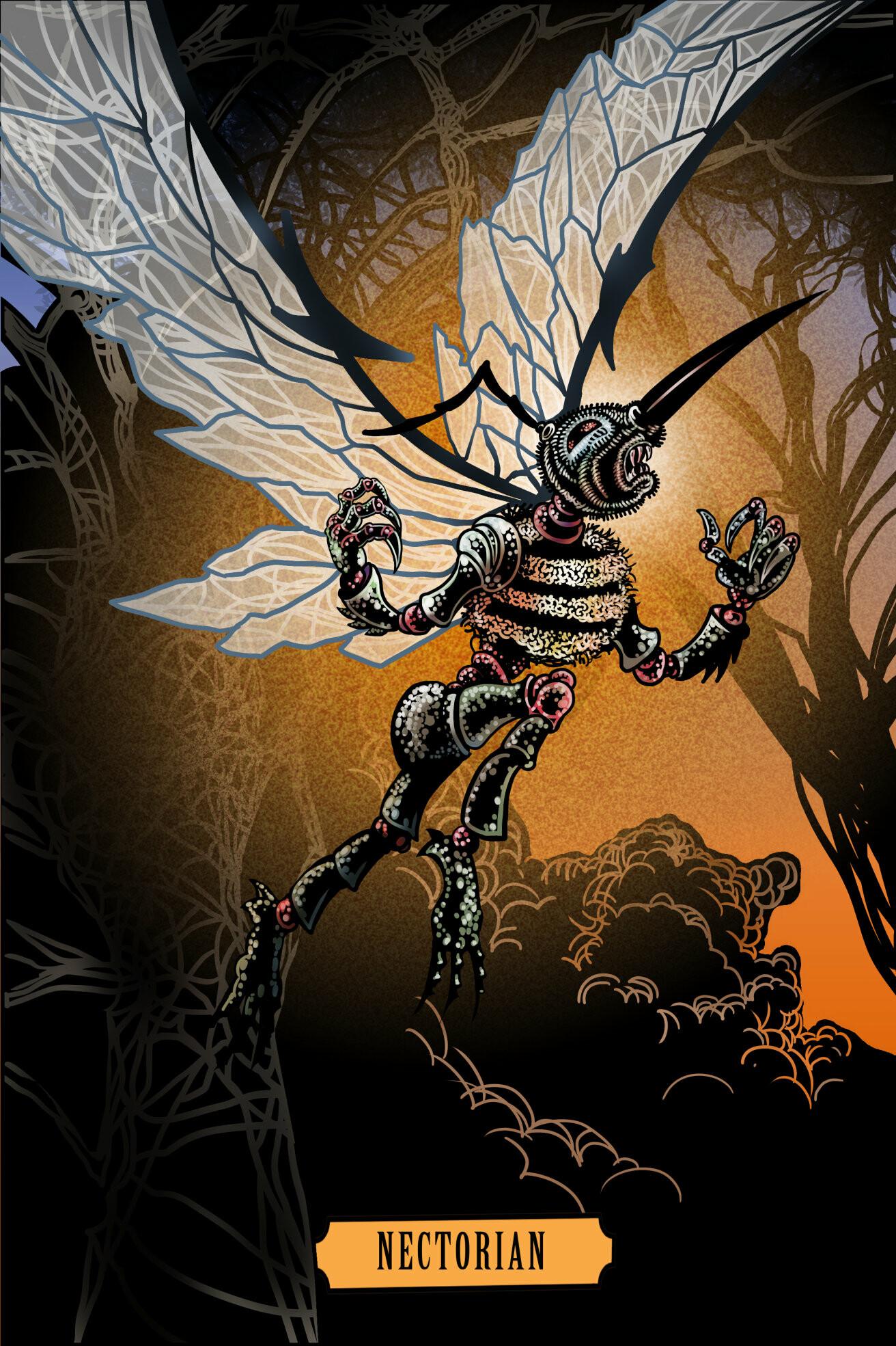 Teen Fantasy Book Interior Illustration.