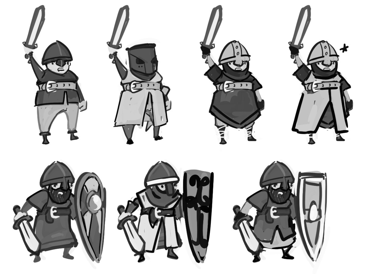 Jake bullock castlecharacters 02 sketches