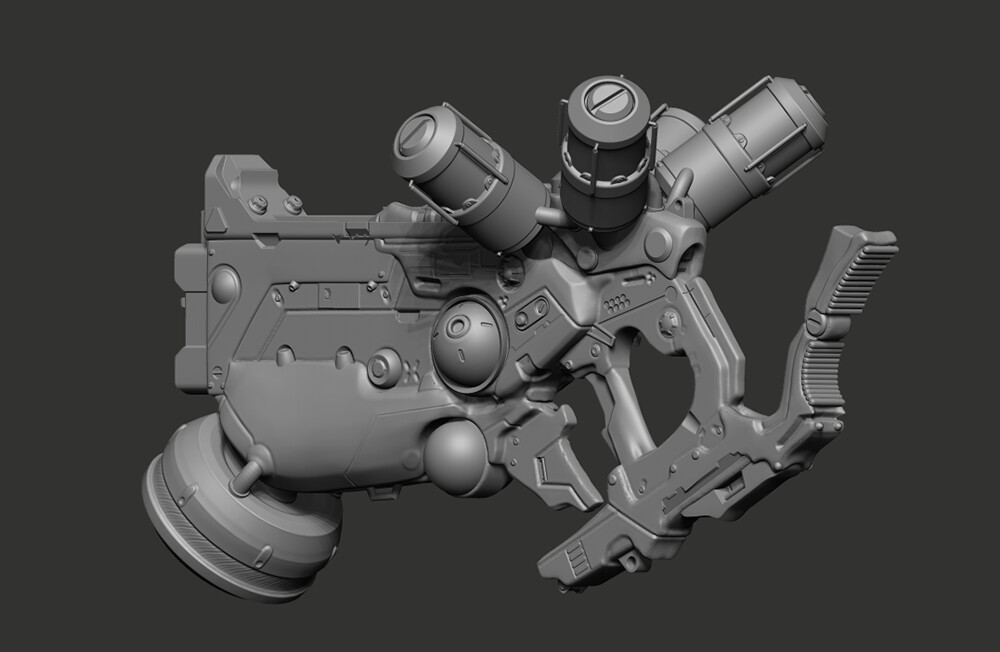 ZBrush Sculpt 1