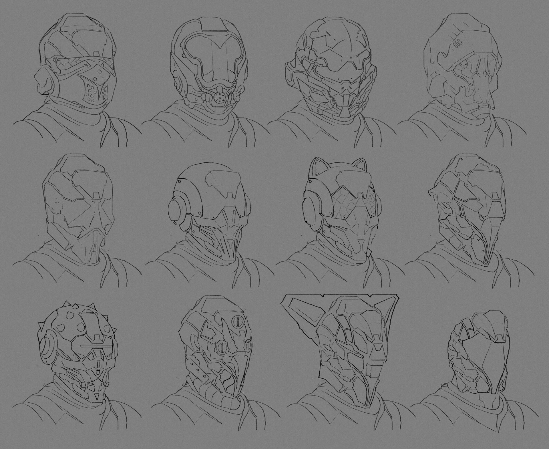 James starr king starr king sci helm sketches