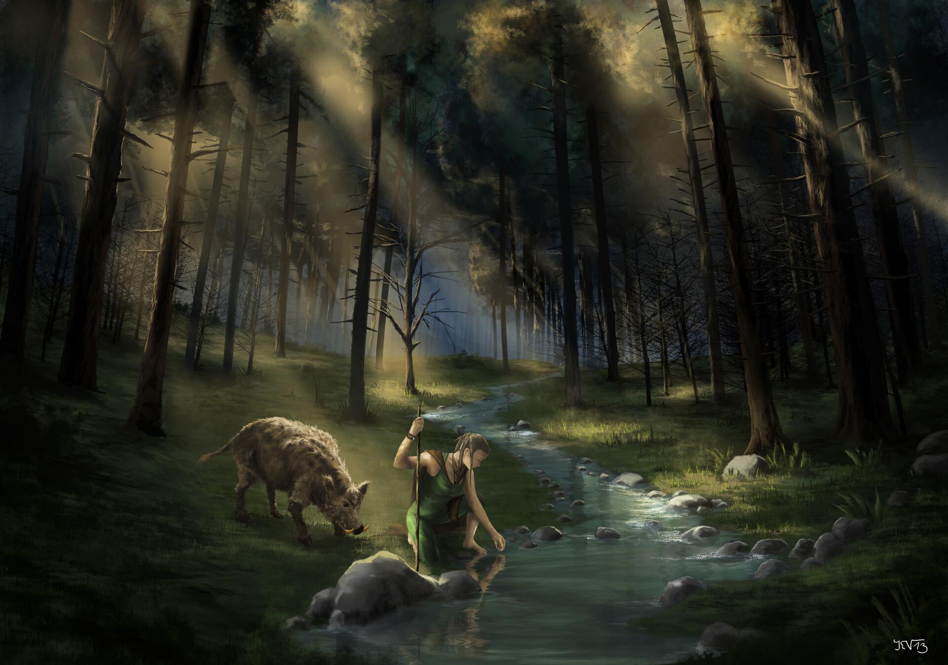 Konstantin vohwinkel 4 22 into the woods
