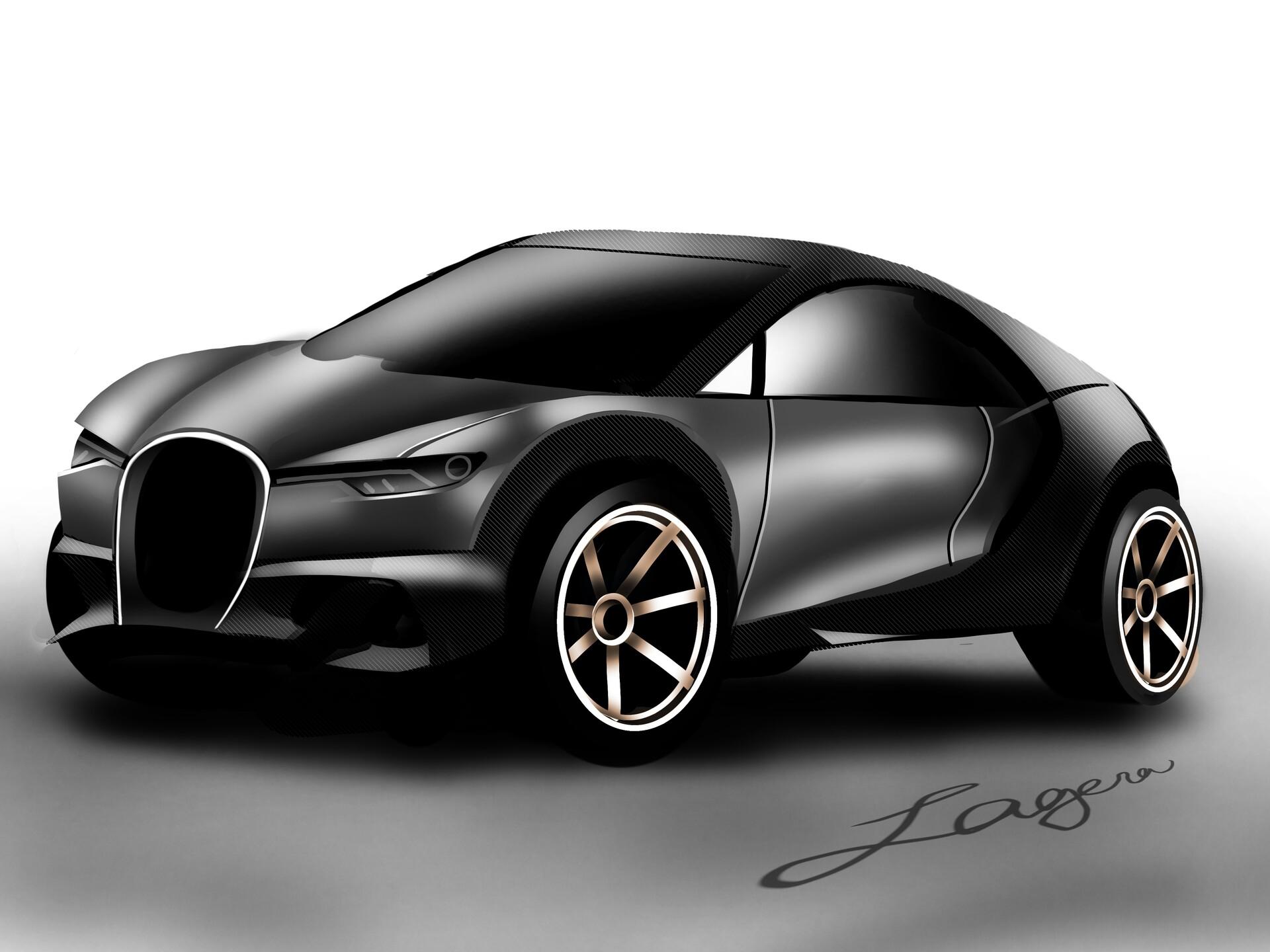ArtStation - Bugatti SUV Concept, Patrick Lagera