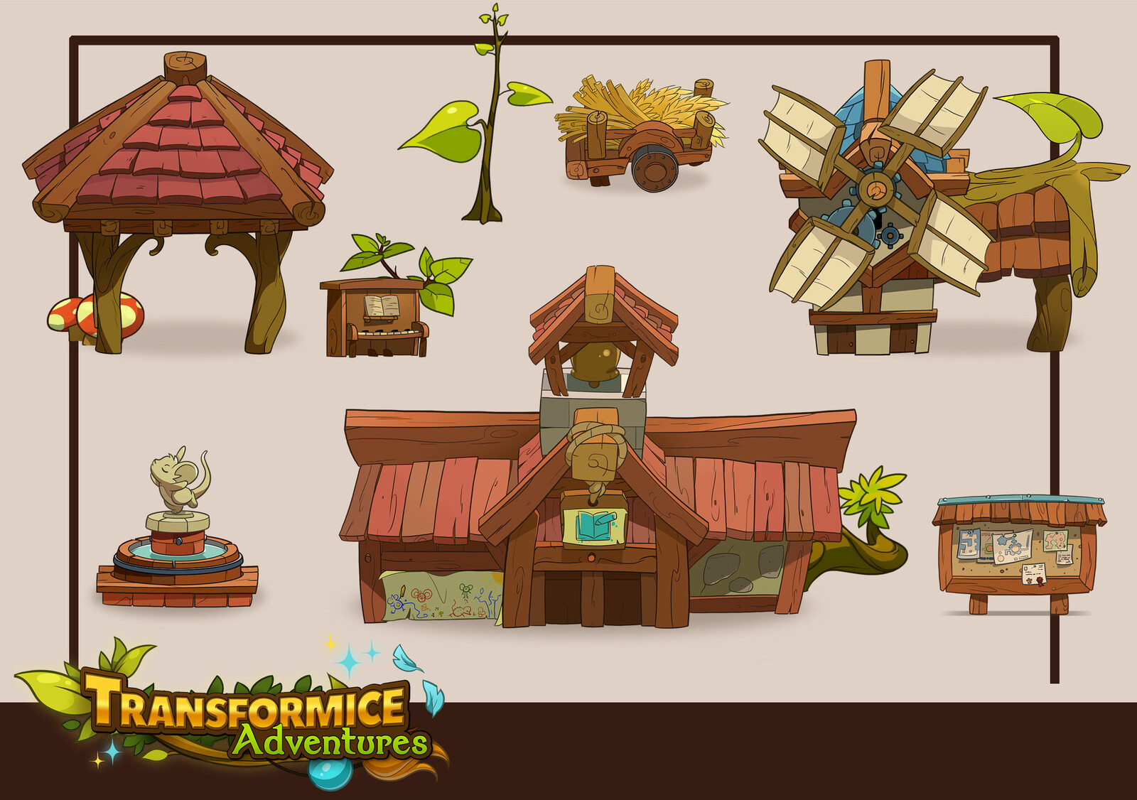 Pictos pour Transformice Adventures