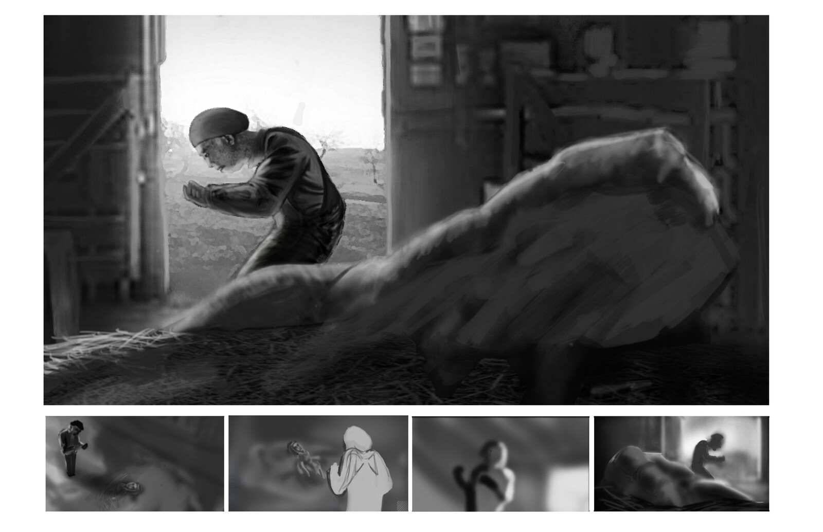 Of Mice and Men Concept Work