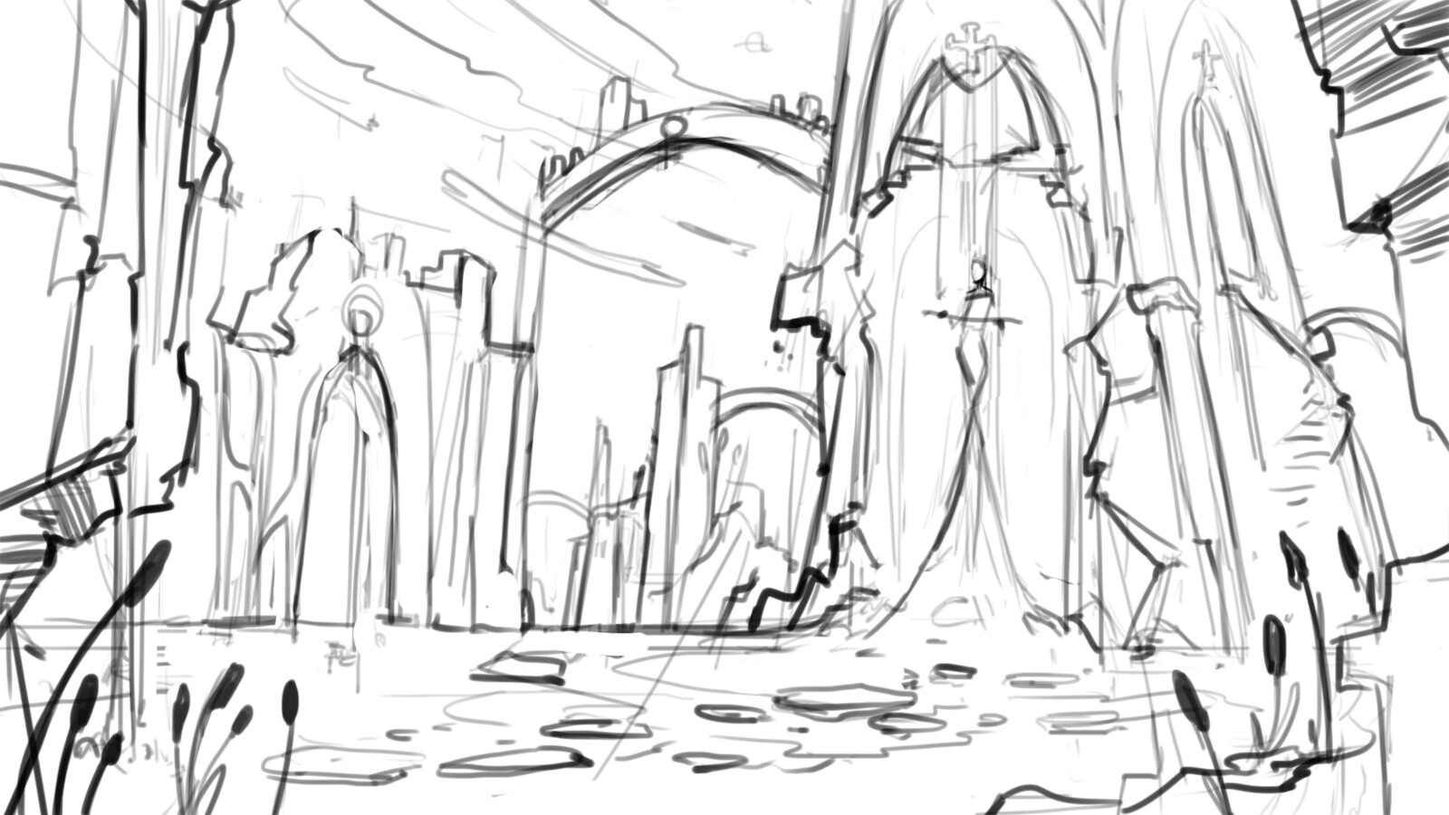 Sketch for the King Arthur Challenge