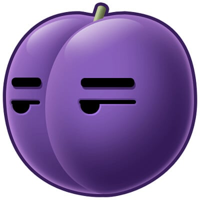 Suggestive Plum GIF