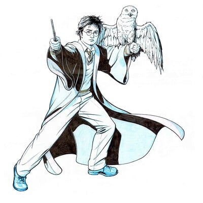 Jerome moore harry potter hedwig copy
