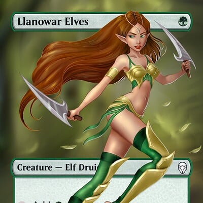 4 seasons, llanowar elves