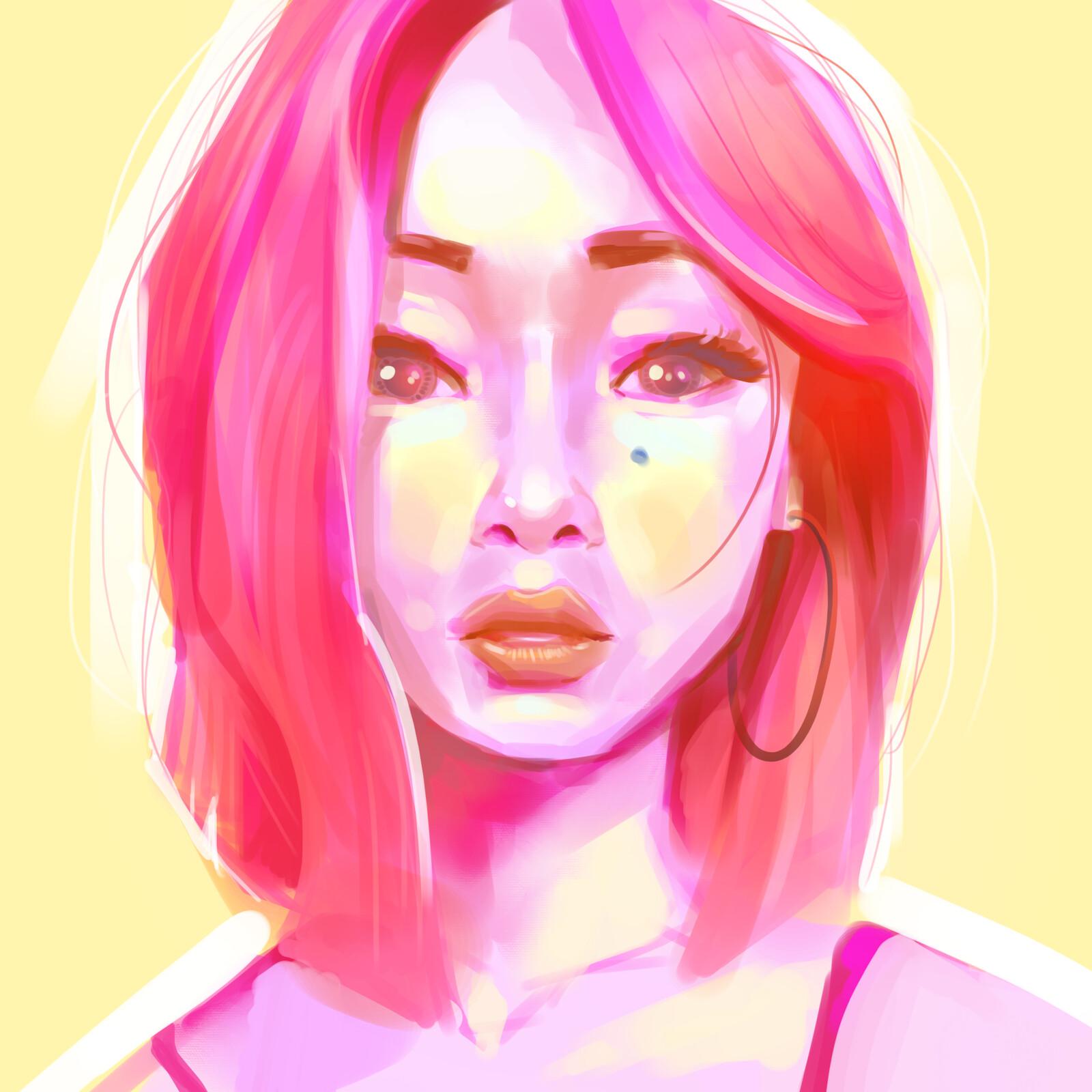 Portrait Color Sketches