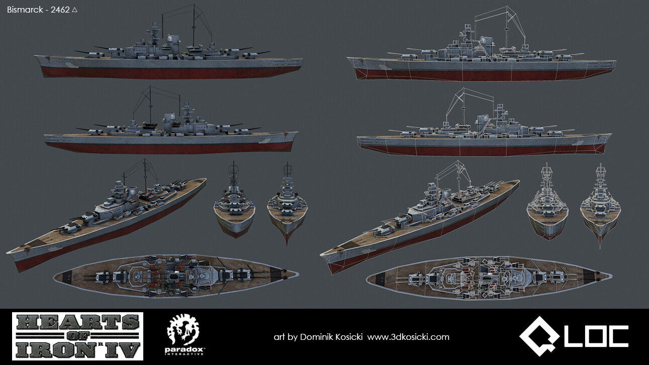 Hoi4 Ship Designs