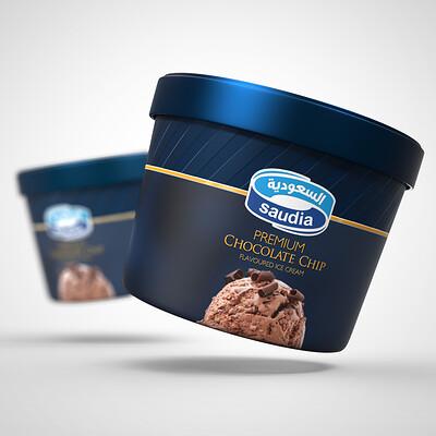Saudia Ice Cream