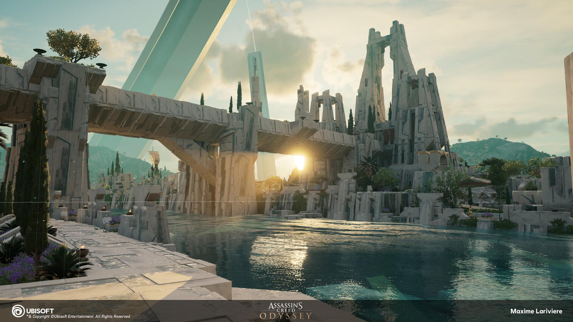 Artstation Assassin S Creed Odyssey The Fate Of Atlantis