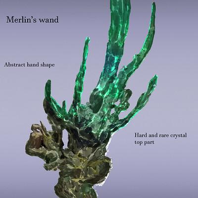 Leonard haas ka main props merlins wand 1