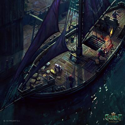 Maciej laszkiewicz 1893 pirate ship