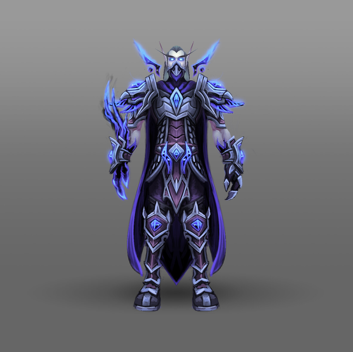 Artstation Fan Art World Of Warcraft Racial Class Armor Design Voidelf Arthur Lorenz Leveled a void elf warrior to 110 and got my ve heritage armor! of warcraft racial class armor design
