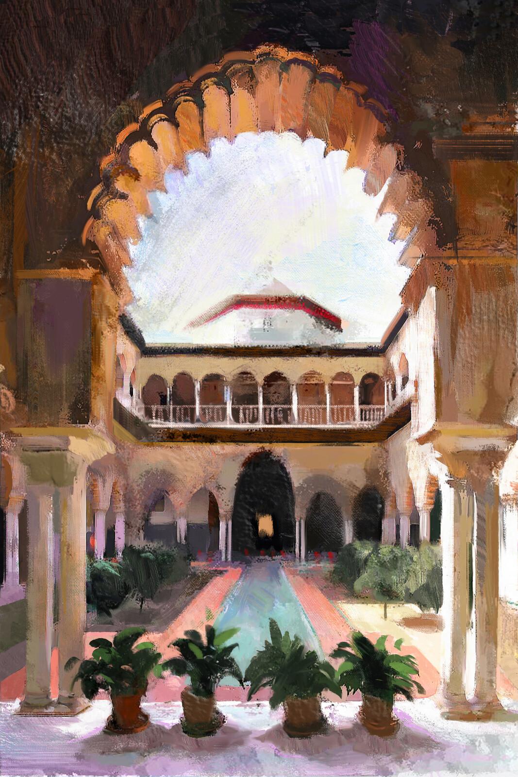 Alcazar - Study (Sevilla)