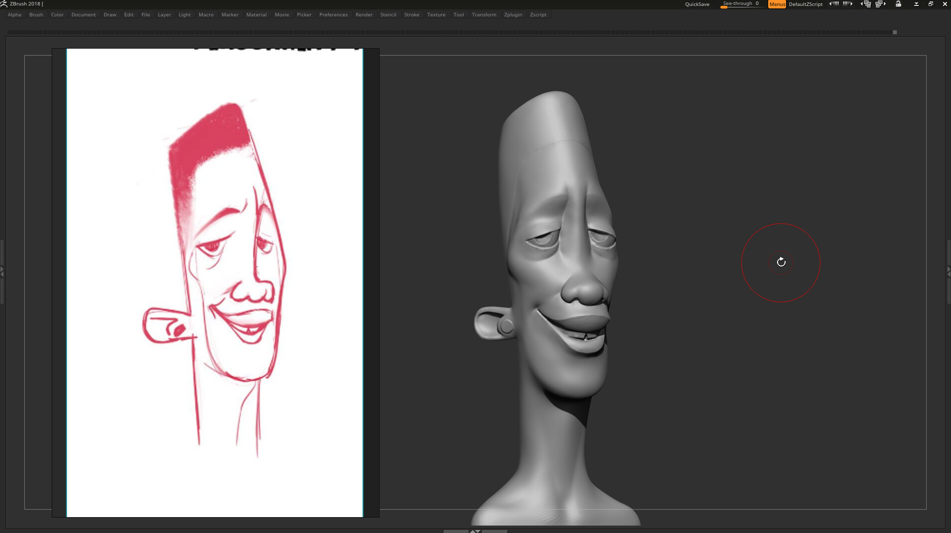 Katan's Concept / My Zbrush sketch