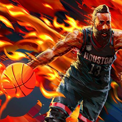 NBA Live 19 - Court Battles - James Harden