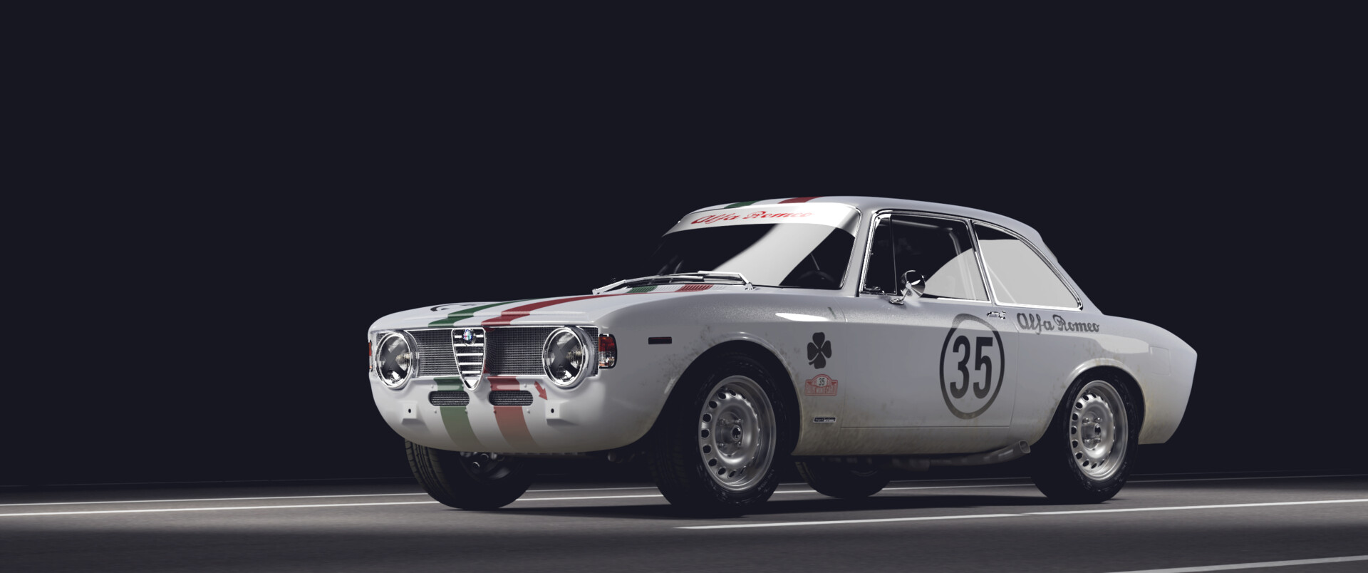 Artstation Alfa Romeo Giulia Sprint Gta Patryk Jablonski