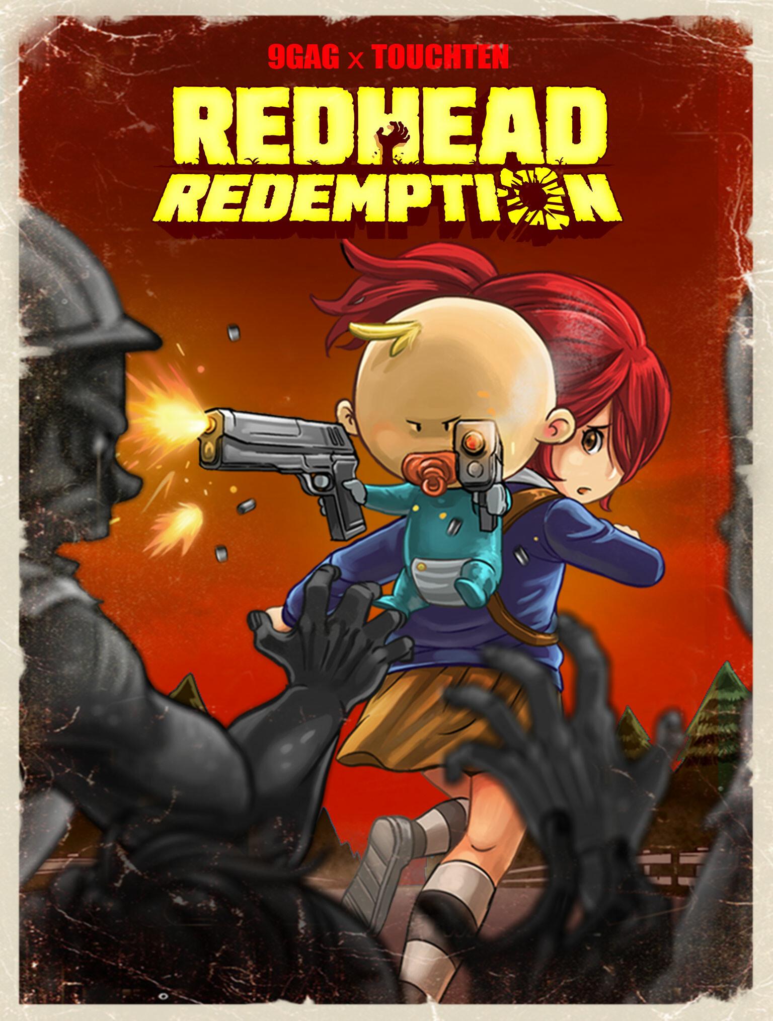 ArtStation - RedHead Redemption, Nilwafa Praduta