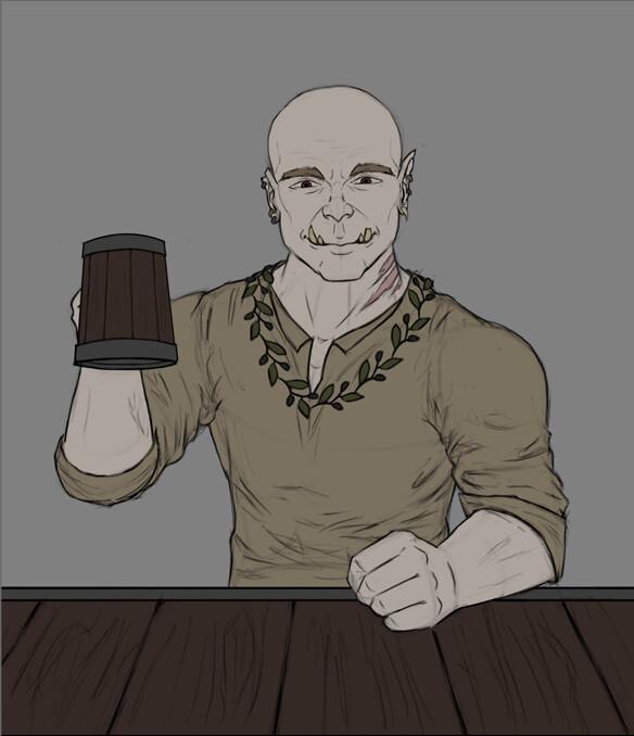 Christian hadfield half ork update 1