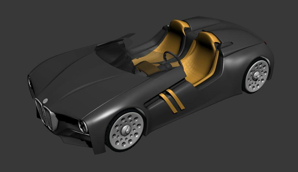 ArtStation - BMW Car , Jayanth Mys